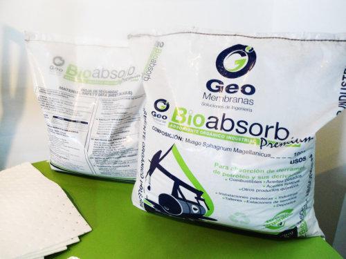 absorbentes granulares para contencion de derrames