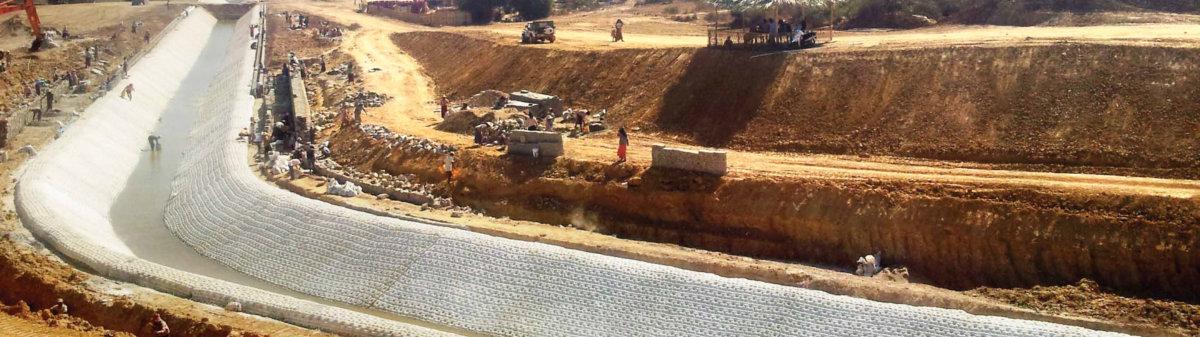 Sistemas de Control de Erosion concrete matttress rios y quebradas