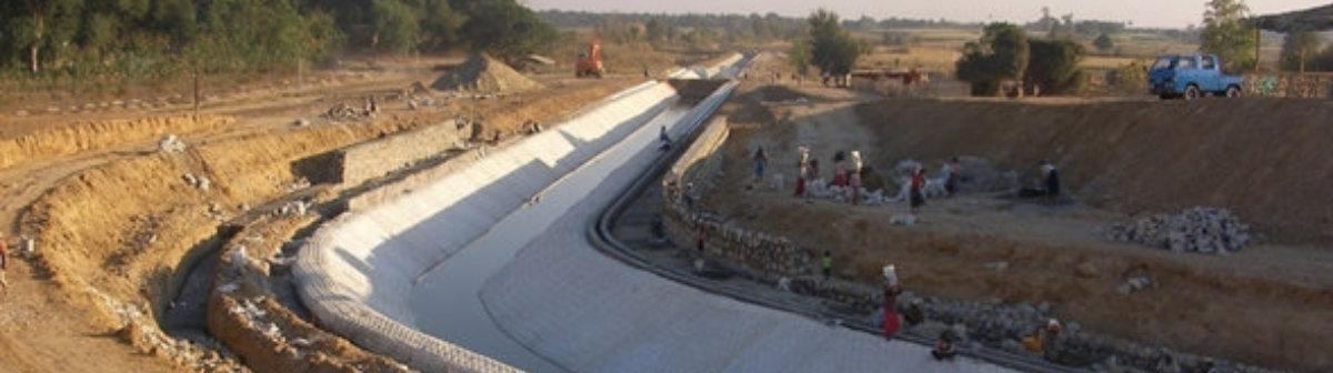 Sistemas de Control de Erosion concrete mattress canalizaciones