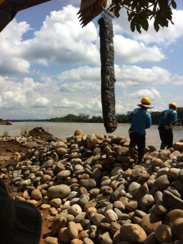 geocolchones para control de erosion proteccion de rios
