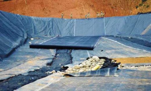 geomembranas hdpe para lagos piscinas de oxidacion y recreativas