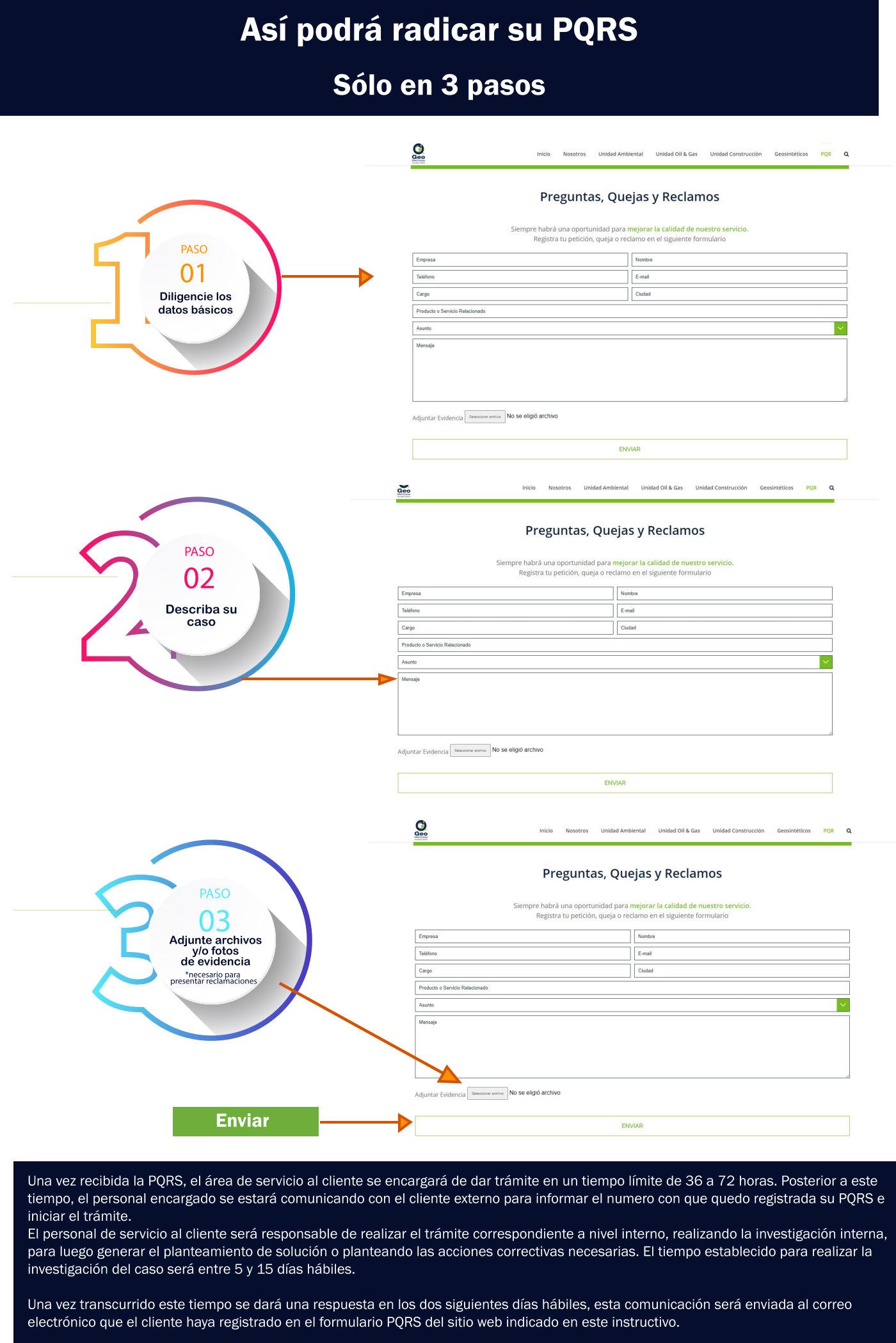 instructivo guia para diligenciar peticiones quejas y reclamos
