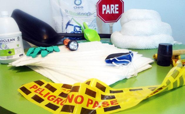 kits para control de derrames y contingencias