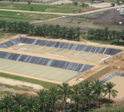 piscinas de oxidación y sedimentacion