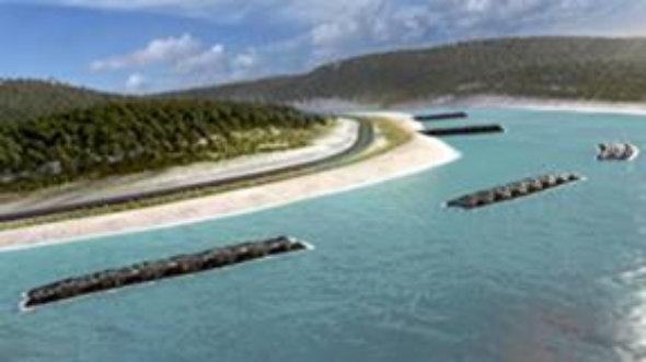 Sistemas de Control de Erosion para diues y presas con geotube