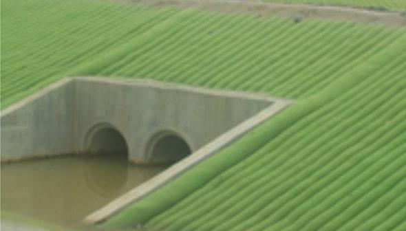 Sistemas de Control de Erosion en diques y presas
